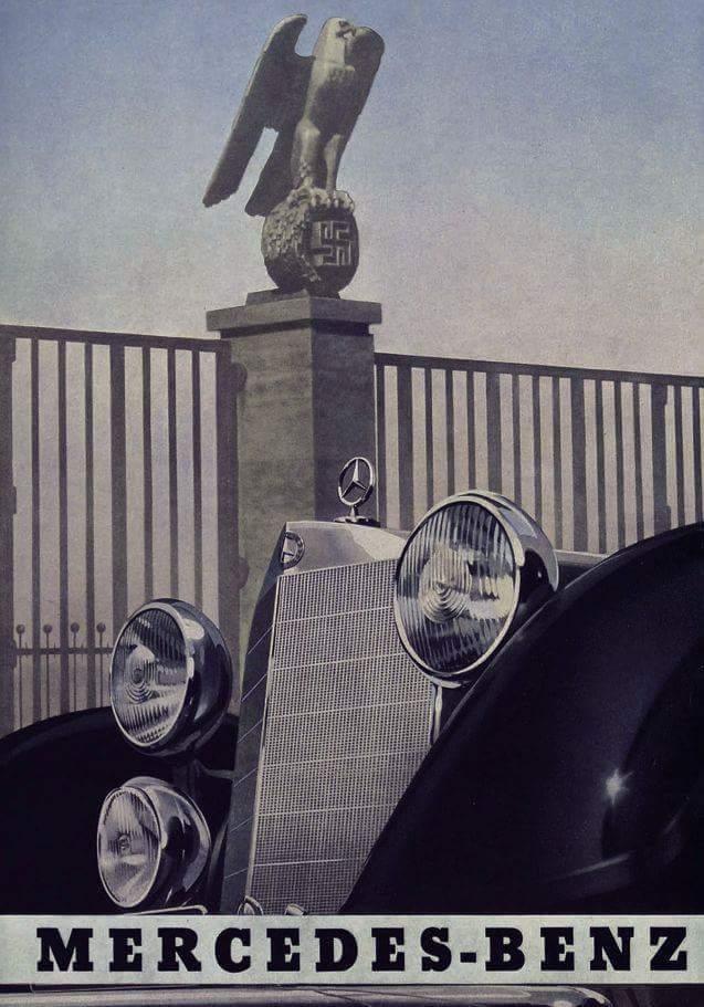 Mercedes-Benz reklám még a békeévekből