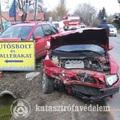 Sérülésekkel járó baleset Csákvár belterületén!