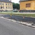 A bicskei útfelújítások kapcsán türelmet és a bólyák, táblák helyben hagyását kéri a BGSZ!