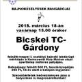 Vérbeli vasárnapi rangadó következik: a második Bicskei TC a harmadik Gárdony-Agárdi Gyógyfürdőt fogadja!