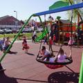 Korszerű új játszóteret adtak át a bicskei SPAR előtti parkban!