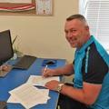 Aláírta szerződését, Földes Gábor az új idényben a Bicskei TC II és az U19 vezető edzője!