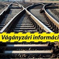 Újabb átmeneti változások a vasúti menetrendben!