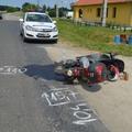 Idős nő motorbalesete Bicskén!