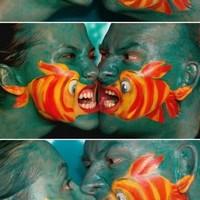 arcfestés: halak