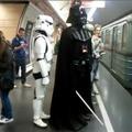 Vader nagyúr a 2-es metrón