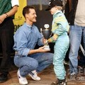 Schumi és a kicsi Vettel