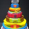 Szuperhős torta