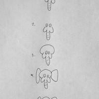 Így rajzolj elefántot!