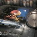 Elképesztő festmény 39 másodperc alatt