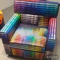 színkavalkád fotel