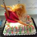 Torta szétcsúszott Barbieknak