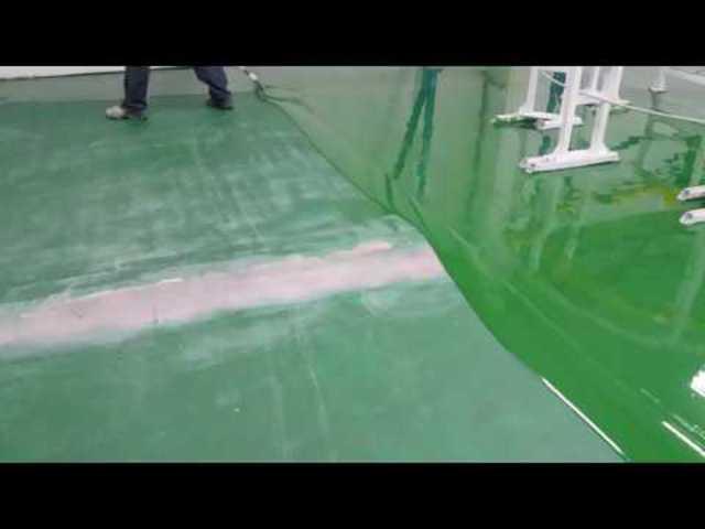 Önterülő műgyanta padló készítése