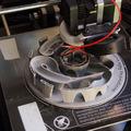 3D nyomtatott üveggolyó (csapágygolyó) játék