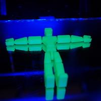 Pózolható figura, egy nyomtatásban
