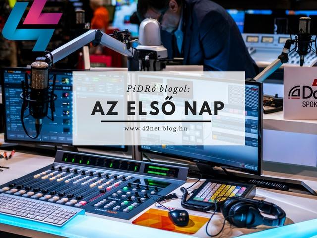 PiDRó blogol: Az NAB első napja máris kikészített
