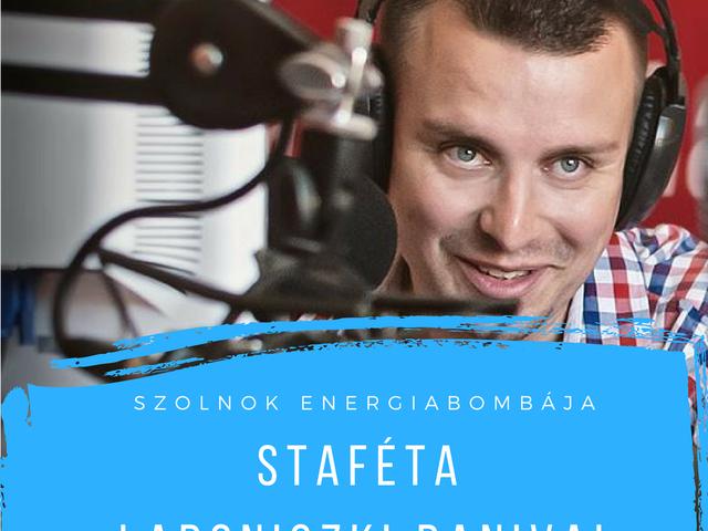 """""""...az élő rádiózás továbbra is extra energiát ad..."""" - Staféta Ladoniczki Dániellel"""