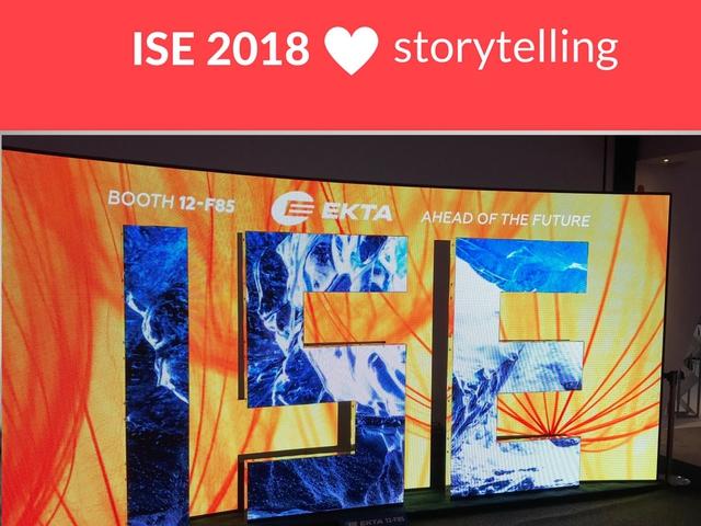 3 tökéletes storytelling trükk az ISE 2018-ról