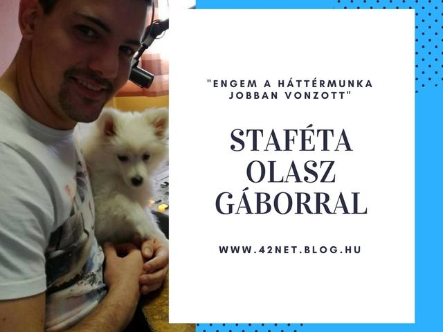 """""""...megfelelő tartalommal kiegyensúlyozhatóak az erőviszonyok"""" - Staféta Olasz Gáborral"""
