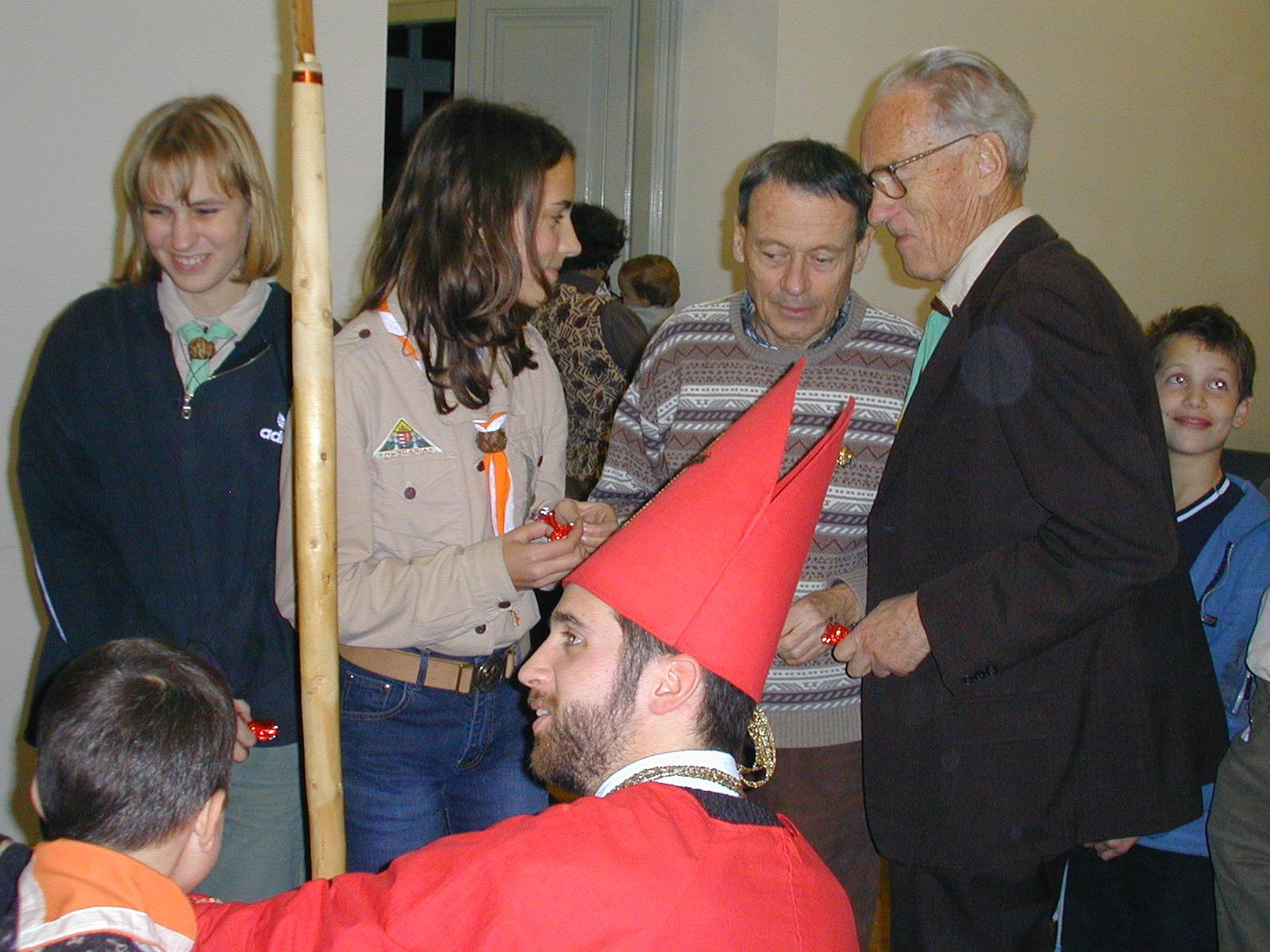 2001-es Szülői Esten