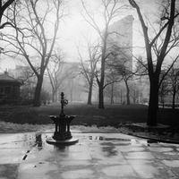 Régi képeken az esőáztatta New York