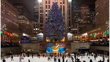New York karácsonyfája