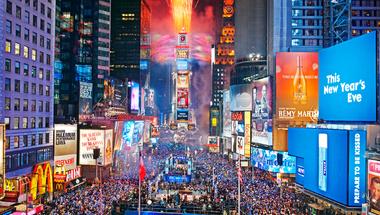Újév a Times Square-en