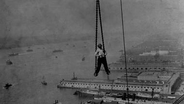 Kilenc ritkán látott fotó Manhattan építőiről