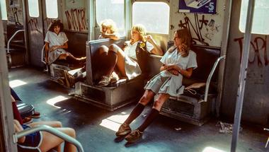 Képek a New York-i metró legsötétebb éveiből