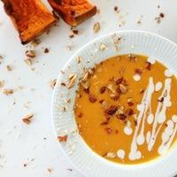 Sütőtök krémleves édesen: naranccsal és mézzel
