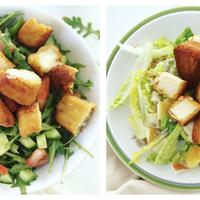 Két isteni, nem unalmas salátavacsora! Te melyiket választanád?