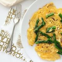 Luxus reggeli: Szarvasgombás, spárgás tojás