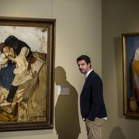 És azt ismerik, hogy az író, a festő és a színész találkozik a múzeumban?