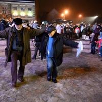 Zorbák tánca Miskolcon
