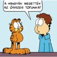 Garfield után szabadon...