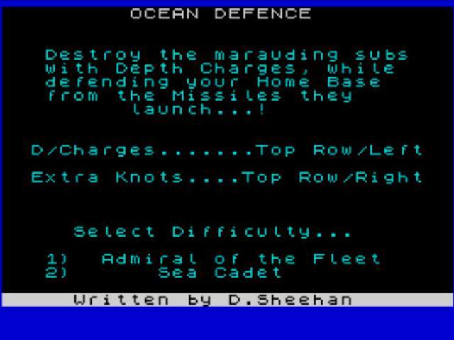 Ocean Defence