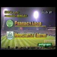 Ferencváros - Newcastle United UEFA  Kupa  1996