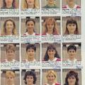 A női kézilabda-válogatott emlékezetes tornái a 90-es években.