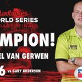 A World Series of Darts Finals bajnoka: