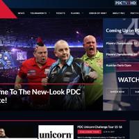Megújult a PDC hivatalos honlapja