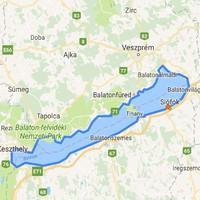 2017-03-31 – Balaton kerülés…