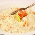 Rákos-kókuszos risotto