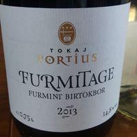 Tokaj Portius, Furmitage 2013 (Furmint birtokbor)
