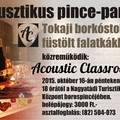 Akusztikus pince-party 2015/10/16