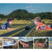 Így is lehet autópályán reklámozni!
