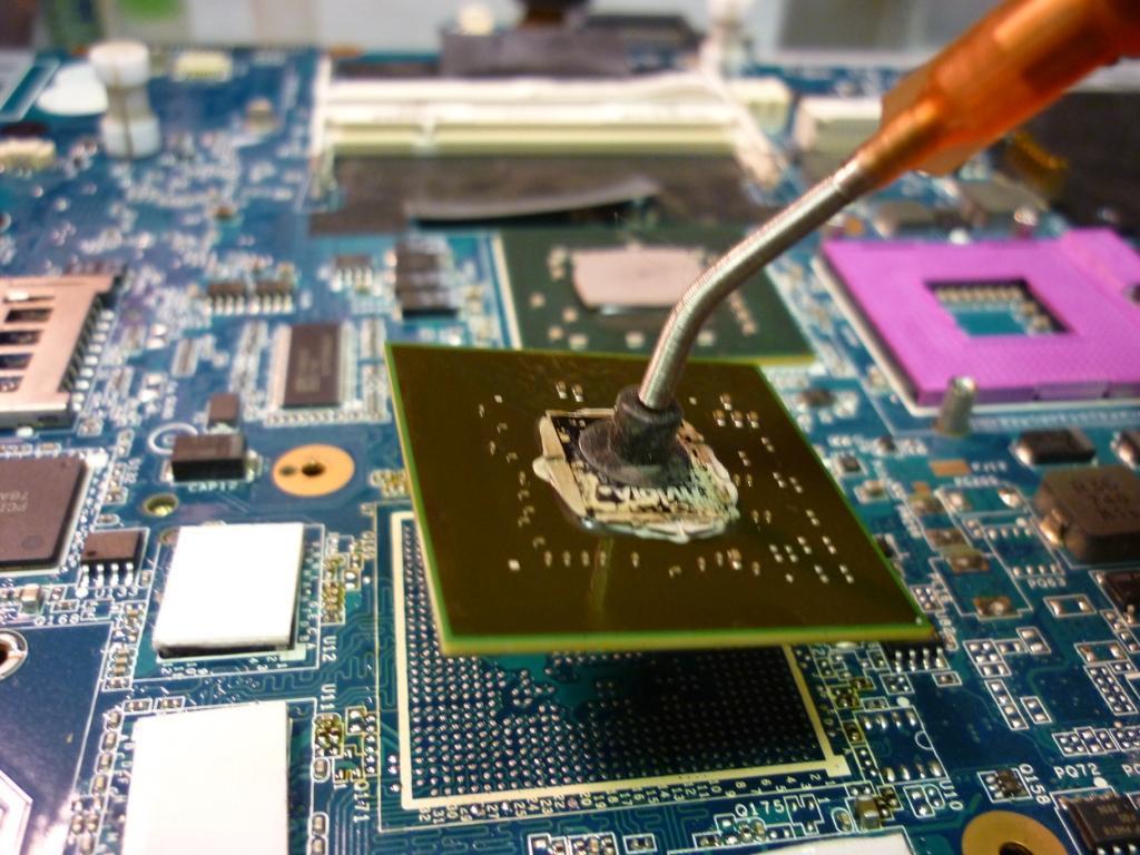 laptop videokartya csere chip