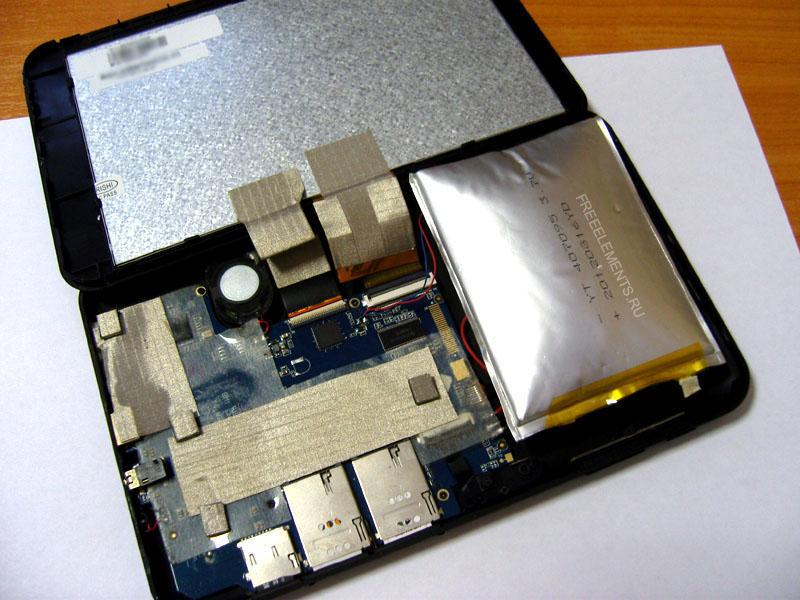 meghibasodott tablet akkumulator
