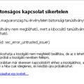Apeh.hu - Magyarorszag.hu anomáliák megoldása
