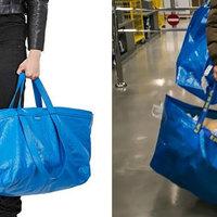 Balenciaga tote bag VS Ikeás szatyor