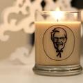 KFC: csirkés illatgyertya